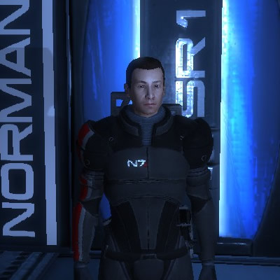 Me in Mass Effect 1